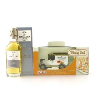 Macallan 10 Year Old Fine Oak Miniature 5cl / includes Whisky Trail Van