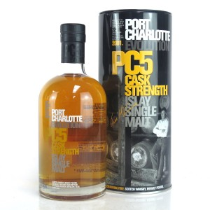 Port Charlotte 2001 Cask Strength 5 Year Old PC5 75cl / US Import