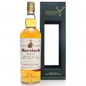 Mortlach 21 Year Old Gordon and MacPhail