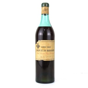 Marie Brizard Very Old Liqueur Brandy Circa 1950s