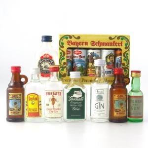 Miscellaneous Spirit Selection 13 x Miniature