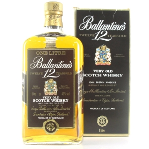 Ballantine's 12 Year Old 1 Litre