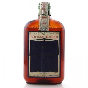 Guckenheimer 1931 Pennsylvania Straight Rye 1 Pint / Prohibition Era