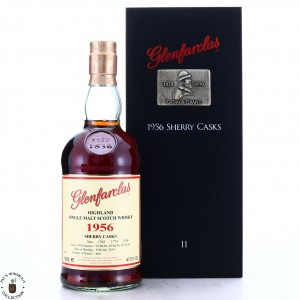 Glenfarclas 1956 Sherry Casks 57 Year Old Collector Series II
