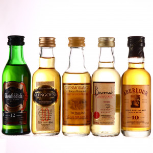 Single Malt Miniature x 5