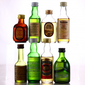 Scotch Malt Whisky Miniatures x 8