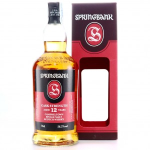 Springbank 12 Year Old Cask Strength / 56.2%