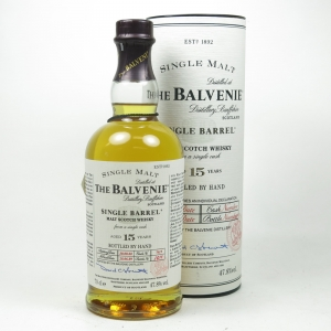 Balvenie 1989 15 Year Old Single Barrel Front