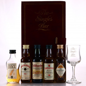 Singles Bar Miniatures x 5 / Invergordon Distillers