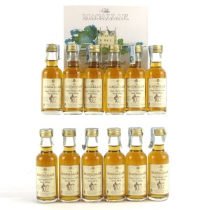Macallan 7 Year Old Armando Giovinetti Special Selection Miniatures 12 x 5cl / Case