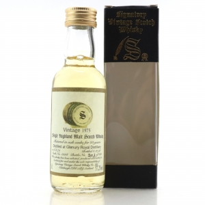 Glenury Royal 1975 Signatory Vintage 23 Year Old Miniature 5cl