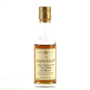 Macallan 12 Year Old Miniature 5cl