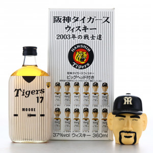Hanshin Tigers Mercian 2003 Team Figurine 36cl / Hoshino