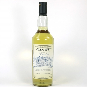Glen Spey 12 Year Old Manager's Dram 2008