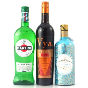 Vermouth Selection 70cl and 2 x 75cl