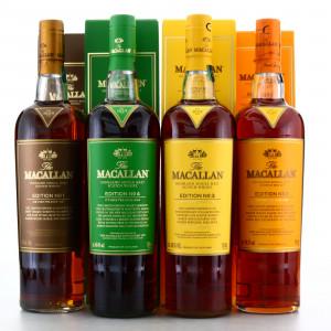 Macallan Edition No.1-4 Collection