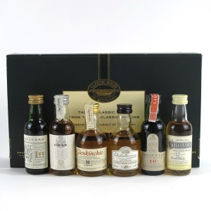 Classic Malts Miniature Gift Set 6 x 5cl / including Lagavulin White Horse