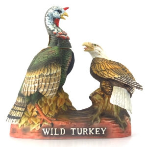 Wild Turkey 8 Year Old 101 Proof Decanter 1980s