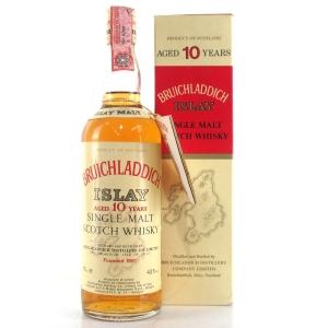 Bruichladdich 10 Year Old 1980s / Rinaldi Import