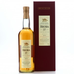 Brora 37 Year Old 2015 Release 75cl / US Import