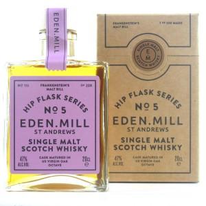 Eden Mill Single Malt Hip Flask Series No.5 20cl / Frankenstein's Malt Bill