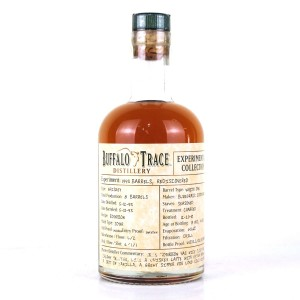 Buffalo Trace 1993 Experimental Collection 17 Year Old 37.5cl / Rediscovered 1993 Barrels