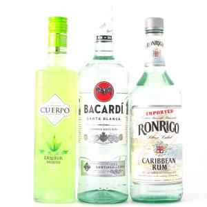Miscellaneous Rum Selection x 3