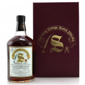 Ardbeg 1967 Signatory Vintage 30 Year Old75cl / US Import -Sherry Butt #1142