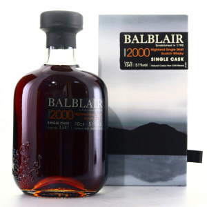 Balblair 2000 Single Sherry Cask #1341