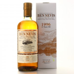 Ben Nevis 1996 Cask Strength 21 Year Old / LMDW