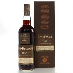 Glendronach 1992 Single Cask 19 Year Old #1123