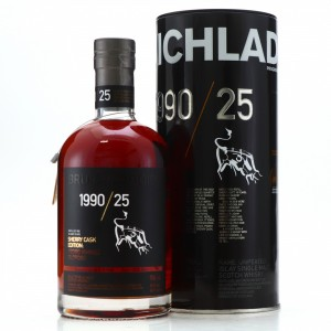 Bruichladdich 1990 Rare Cask Series 25 Year Old / Sherry Cask Edition