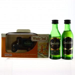 Glenfiddich 12 Year Old Miniature x 2 & Days Gone Whisky Trail Van