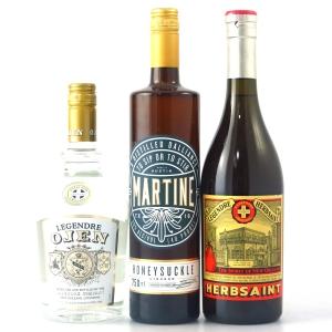 Miscellaneous American Liqueurs 3 x 75cl