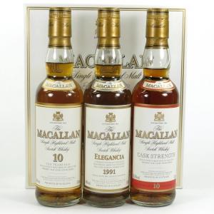 Macallan Travellers Choice 3 x 33.3cl