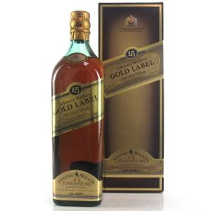 Johnnie Walker Gold Label 15 Year Old 75cl