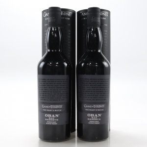 Oban Bay Reserve / The Night's Watch 2 x 70cl