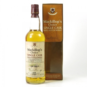 Scapa 1989 Mackillop's Choice 10 Year Old