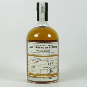 Longmorn 17 Year Old Cask Strength Batch 001 Front