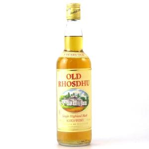 Old Rhosdhu / Loch Lomond 5 Year Old