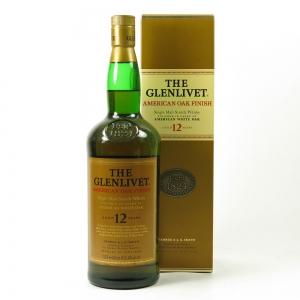 Glenlivet 12 Year Old American Oak Finish 1 Litre