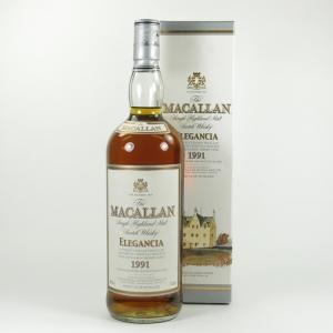 Macallan Elegancia 1991 1 Litre