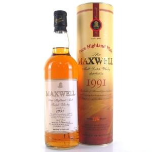 Maxwell 1991 12 Year Old