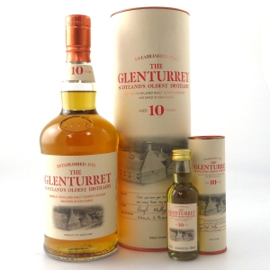 Glenturret 10 Year Old / with Miniature 5cl