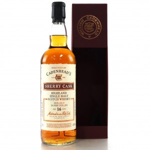 Dalmore 2001 Cadenhead's 16 Year Old / Sherry Cask
