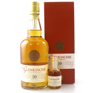 Glenkinchie 10 Year Old / with Miniature 5cl