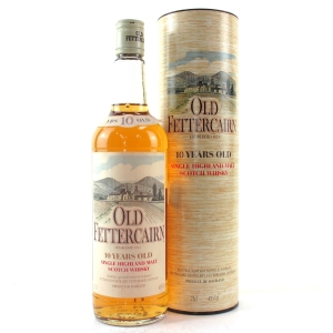 Old Fettercairn 10 Year Old 1980s