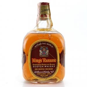 King's Ransom 'Round The World' Scotch Whisky 1960s