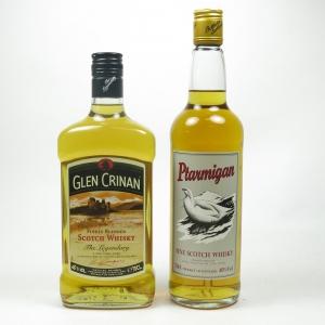 Glen Crinan and Ptarmigan Blended Whiskies