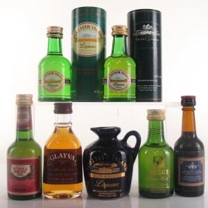Miscellaneous Liqueur Miniature Selection x 7